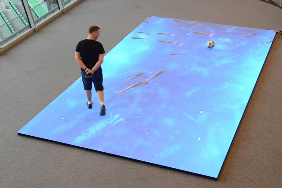Wynajem Podłóg Diodowych Interaktywne Podłogi Led Led Floor